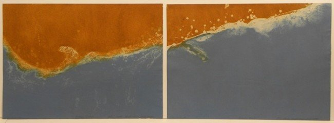 5005: Dan Carle Anderson diptych Signed & Numbered