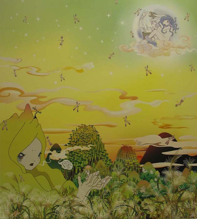 5010: Chiho Aoshima Lithograph Signed & Numbered Muraka