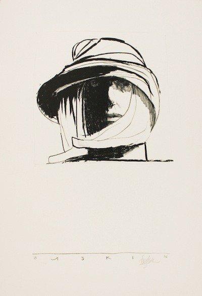 5016: Leonard Baskin Lithograph Signed & Numbered