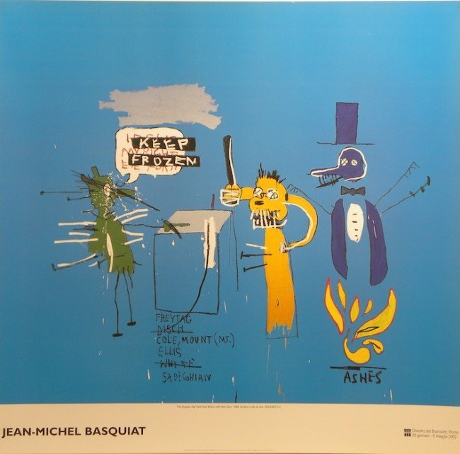 5017A: Jean-Michel Basquiat Lithographic Poster