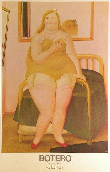 5022A: Fernando Botero Lithographic Poster