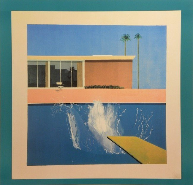5103E: David Hockney Lithographic Poster