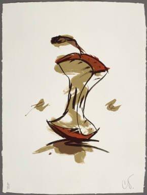 272: Claes Oldenburg Pencil Signed & Numbered