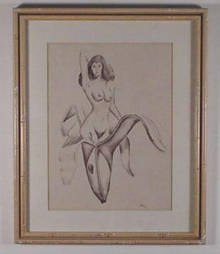 6: Mel Ramos: (Style) Pencil Drawing