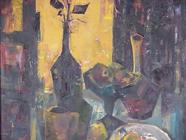 Zoma Baitler: Oil On Canvas *Well Listed