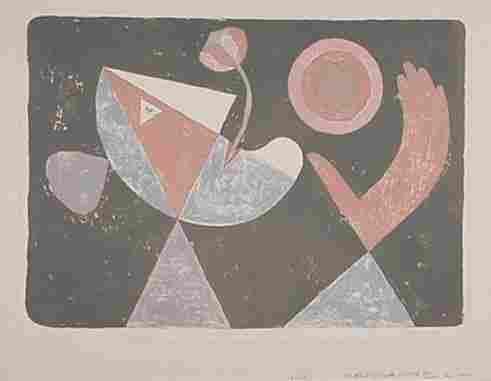Victor Brauner: Lithograph
