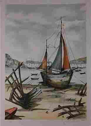 Jean-Pierre Laurent: (1920) Lithograph