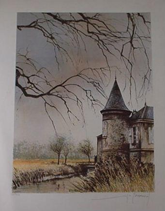 1011: Frantois D'izarny: (1952) Lithograph