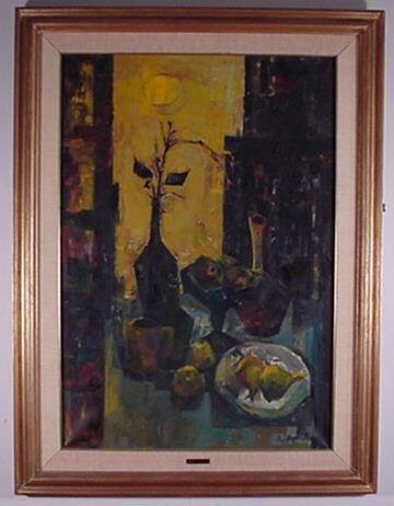 1013: Zoma Baitler: Oil On Canvas *Well Liste