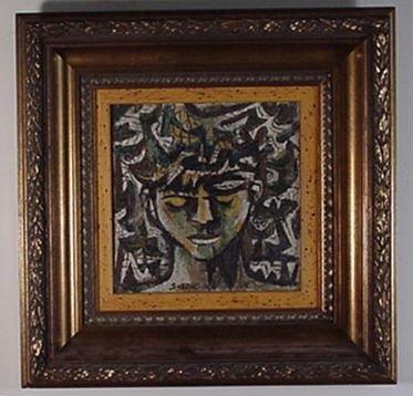1136: Carlos Sobrino Cuban Art 1966
