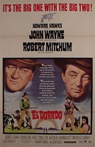John Wayne Robert Mitchum El Dorado Mov