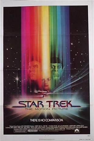 Star Trek Motion Picture Movie Poster