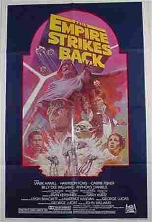 Star Wars Empire Strikes Back Movie Pos