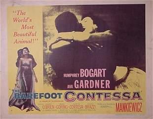 Humphrey Bogart Ava Gardner Movie Poste