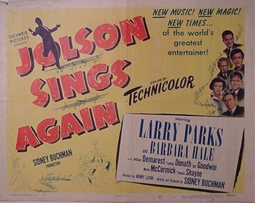 2012: Al Jolson Movie Poster