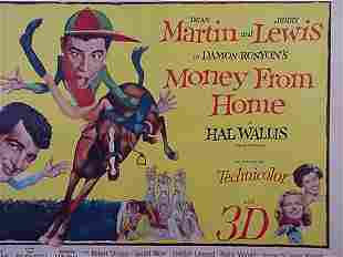 Dean Martin Jerry Lewis Movie Poster