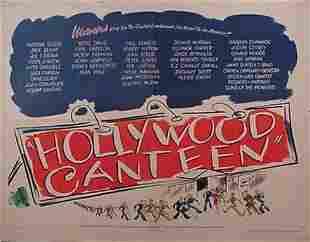 """""""Hollywood Canteen"""" Movie Poster"""