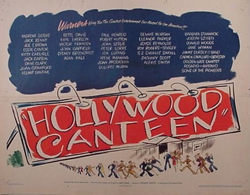 """2015: """"Hollywood Canteen"""" Movie Poster"""