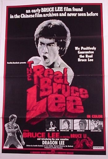 2018: Bruce Lee Original Movie Poster