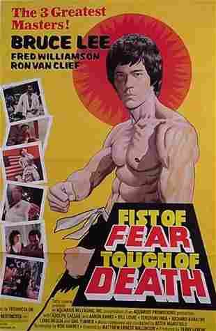 Bruce Lee Original Movie Poster