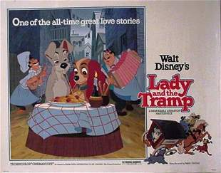 Disney Lady & Tramp Movie Poster