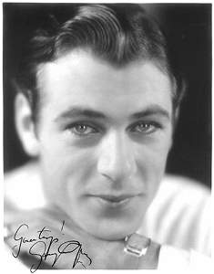 2110: Gary Cooper Signed Photograph