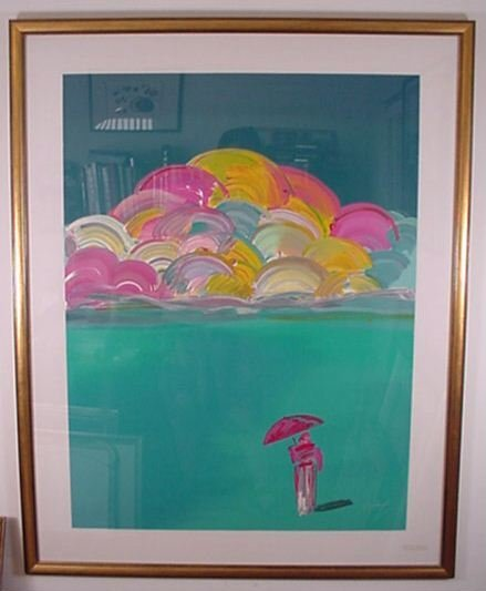 2211: Peter Max Pencil Signed & Numbered