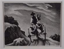 2340 Thomas Hart Benton Lithograph