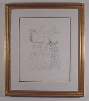 """Dali """"Famous Lovers"""" Helen of Troy Signed & Numbe"""