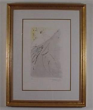 Dali Etching Song of Songs Signed & Numbered