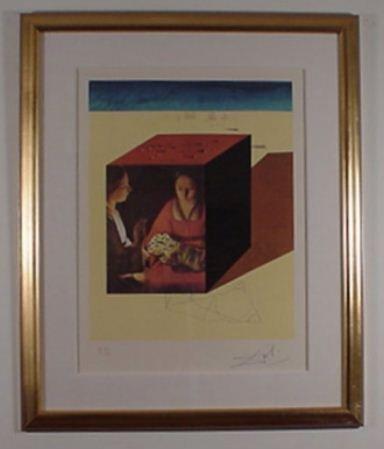 2210: Dali Etching Memories of Surrealism Sign & Number