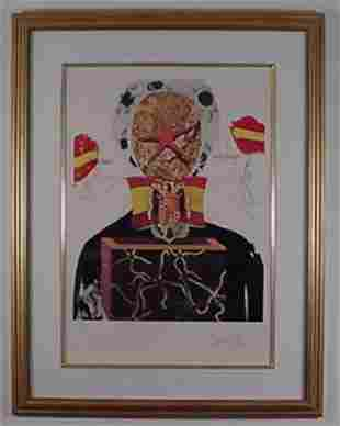 Dali Etching Memories of Surrealism Sign & Number