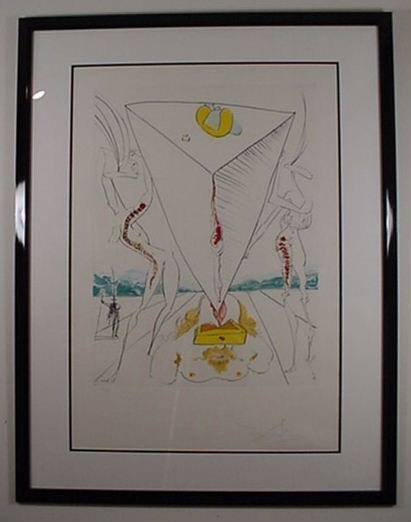 2216: Dali Conquest of Cosmos Hand Signed & Numbered