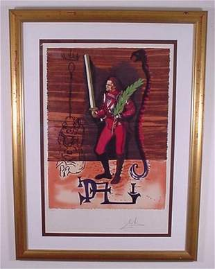 """Dali """"Christopher Columbus"""" Hand Signed & Numbere"""
