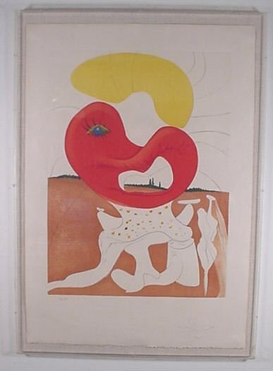 2220: Dali Conquest of Cosmos Hand Signed & Numbered