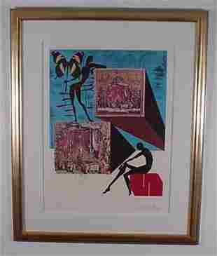 Dali Etching Memories of Surrealism Signed & Numb