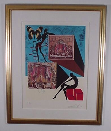 2223: Dali Etching Memories of Surrealism Signed & Numb