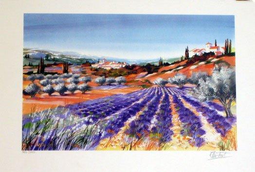 920: Ella Fort Landscape Scene Pencil Signed & Numbered