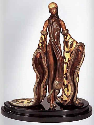 1340: Erte Bronze Limited Edition Signed & Numbered