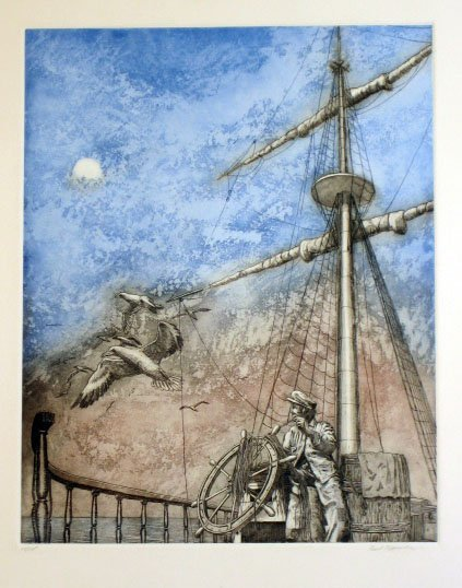 2003: Paul Tappenden Fishing Boat Captain Signed & Numb