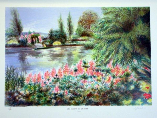 3518: Rolf Rafflewski (Monet Style) Signed & Numbered