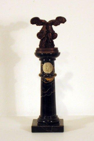 3639: Salvador Bronze on Marble Pedestal Signed & Numbe