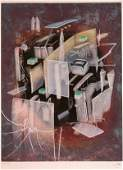 3652 Roberto Matta Etching Aquatint Signed  Numbered