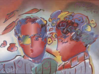 2510: Peter Max Serigraph Pencil Signed & Numbered