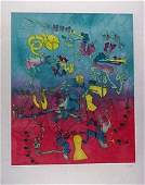 2537 Roberto Matta Etching Pencil Signed  Numbered
