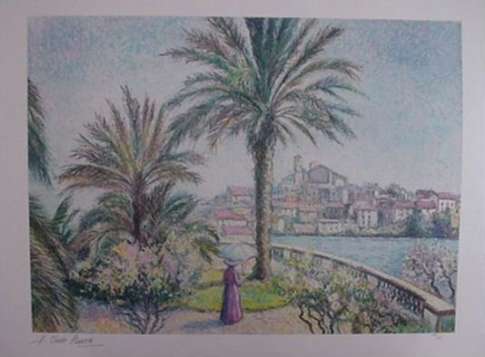 2574A: H. Cluade Pissarro Pencil Signed & Numbered