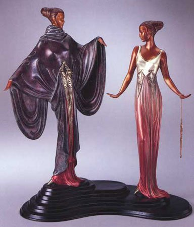 4740: Erte Bronze Limited Edition Signed & Numbered