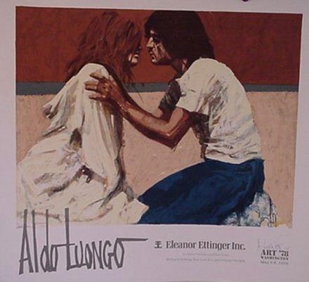 2815: Aldo Luongo Pencil Signed Poster