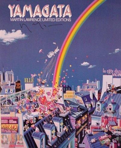 2819: Yamagata Signed Poster