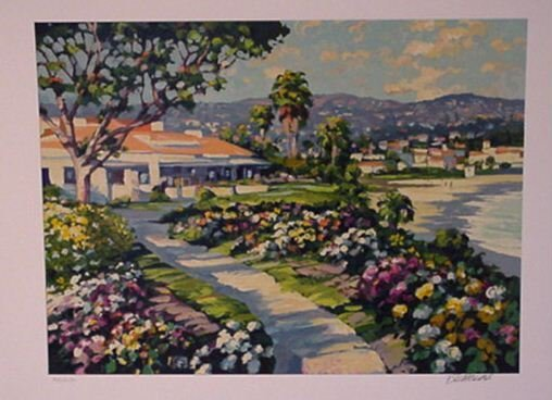2843: Howard Behrens Pencil Signed & Numbered